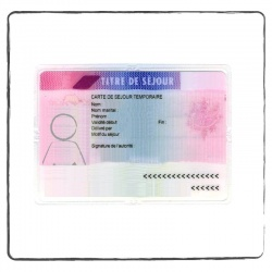 Residence permit US-FR