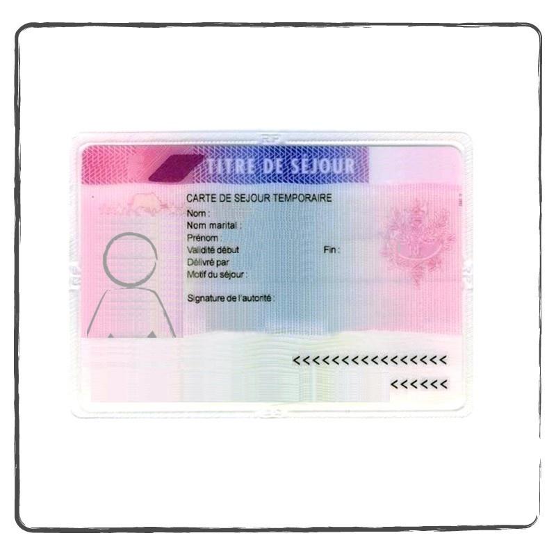Residence Permit Work Permit Certifed Translation