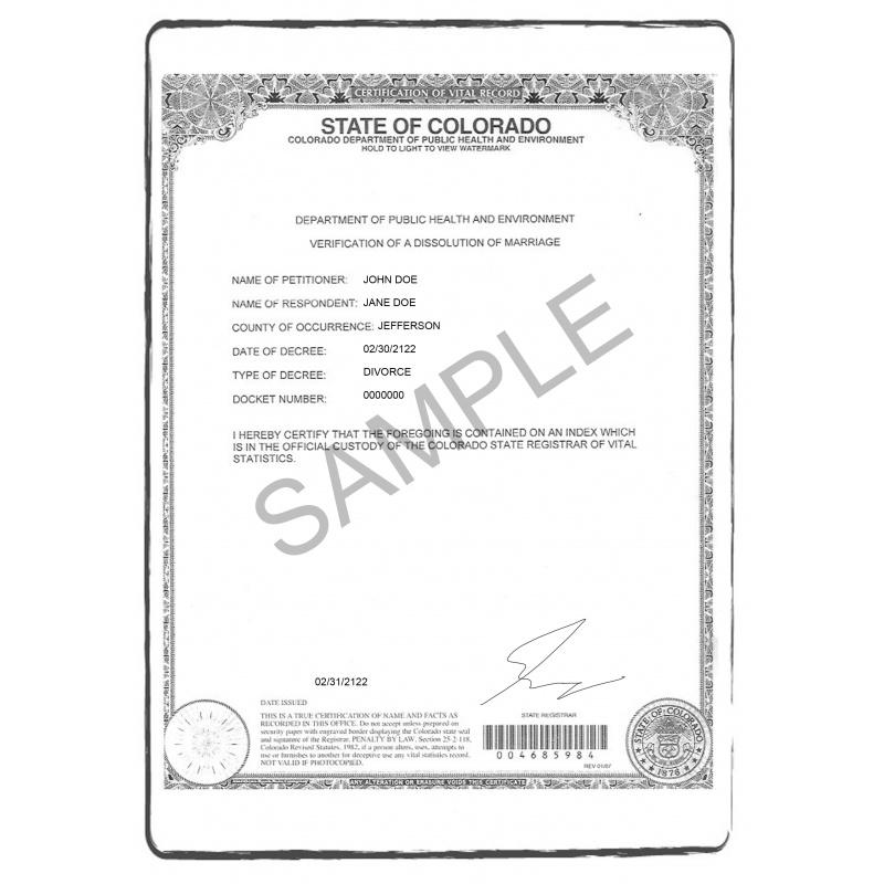 divorce decree EN English US USA United States