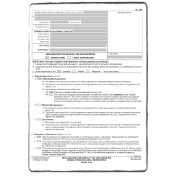 Divorce decree / Jugment of divorce - certified translation