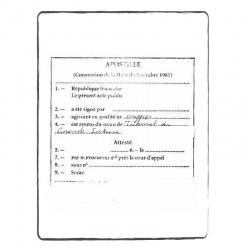 Apostille - certified translation