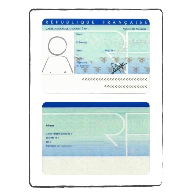 carte d identité francaise recto verso Certified & Official Translation Identity Card|ACS Onlineshop